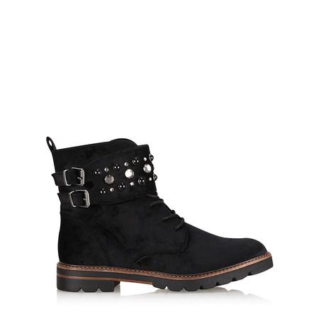 Marco Tozzi Anja Biker Style  Boot - Black