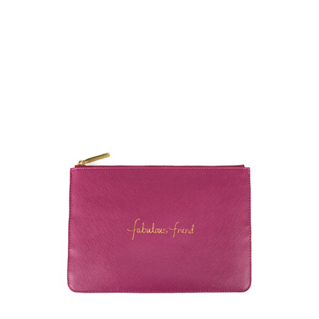 Katie Loxton Perfect Pouch - Fabulous Friend - Pink