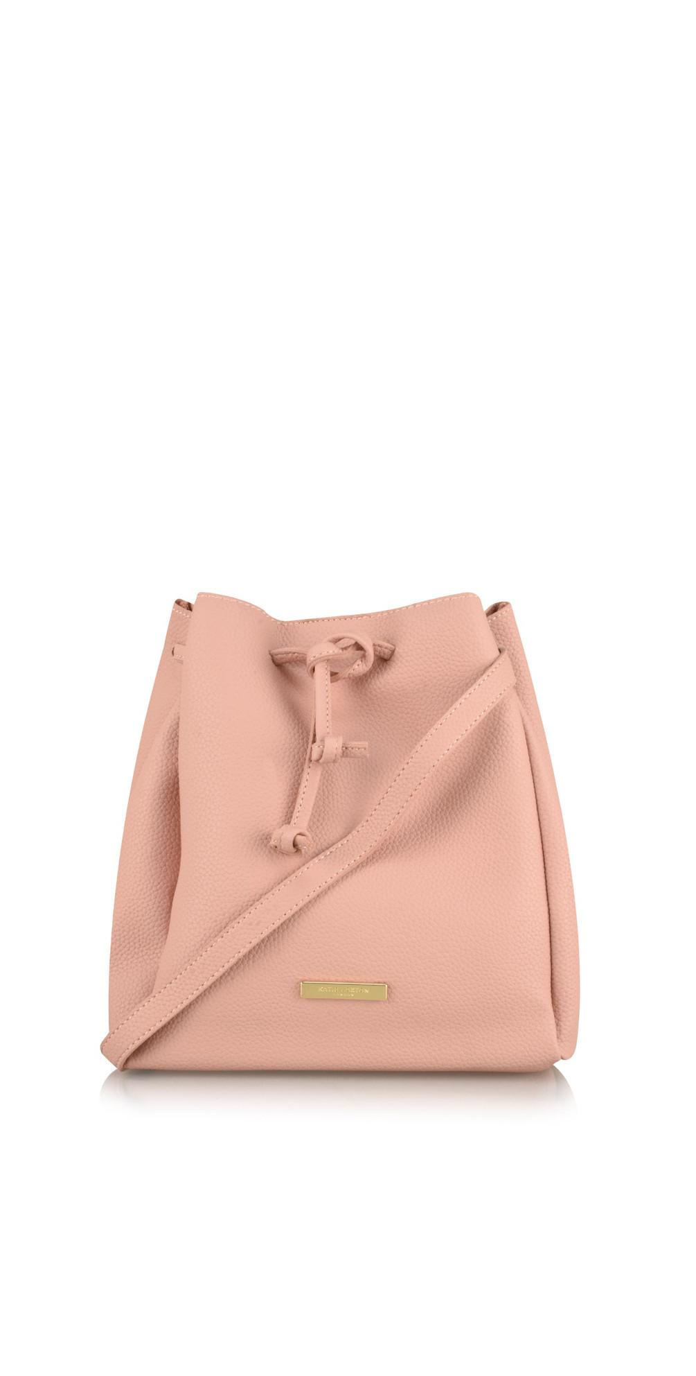 5c63f309a3 Katie Loxton Chloe Bucket Bag in Pale Pink