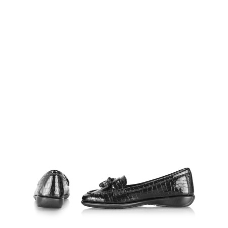 Gemini Label Darling Casual Loafer - Black