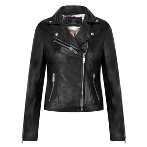 RINO AND PELLE Biker Style Leather Jacket