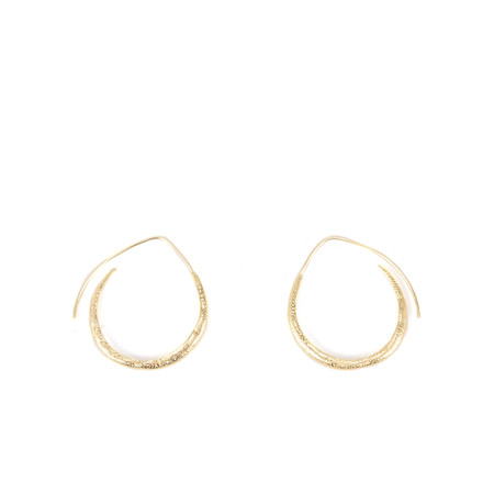Tutti&Co Shore Earrings - Gold