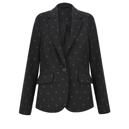 Sandwich Clothing Dot Jacquard Jacket - Black