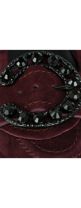 Kennel Und Schmenger Malu Crystal Buckle Pump Amarone/Black