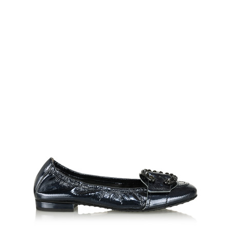 Kennel Und Schmenger Malu Crystal Buckle Pump - Black