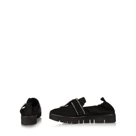 Kennel Und Schmenger Pia XXL Tie Stud Shoe - Black