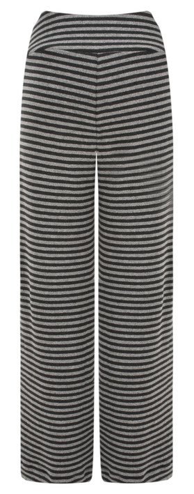 Mama B Striped Knit Brema Trouser Anthracite/Mid Grey
