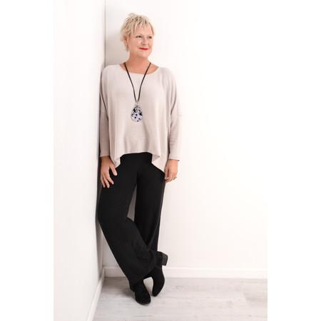 Mama B Oversized Siena Knit Jumper - Beige