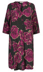 Masai Clothing Claret Org Nita Floral Dress