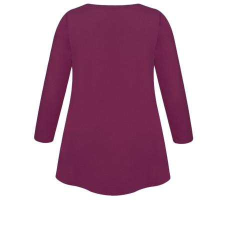 Masai Clothing Cilla Basic Top - Purple