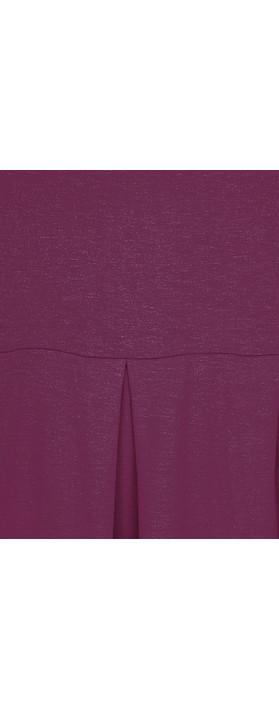 Masai Clothing Nova Jersey Dress Claret