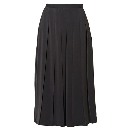 Great Plains Elegant Pleated Drape Trousers - Black
