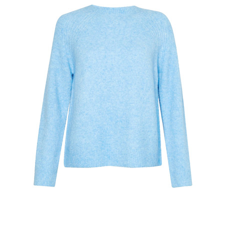 Great Plains Milly Knit Crew Neck Jumper - Blue