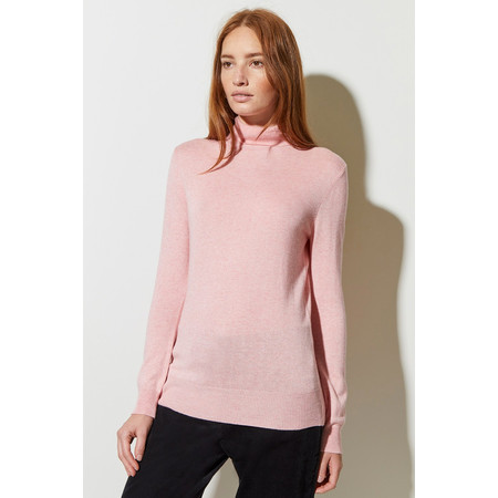 Great Plains Polo Knit Jumper - Pink