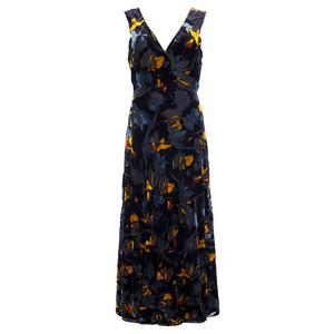 French Connection Aventine Velvet Maxi Dress