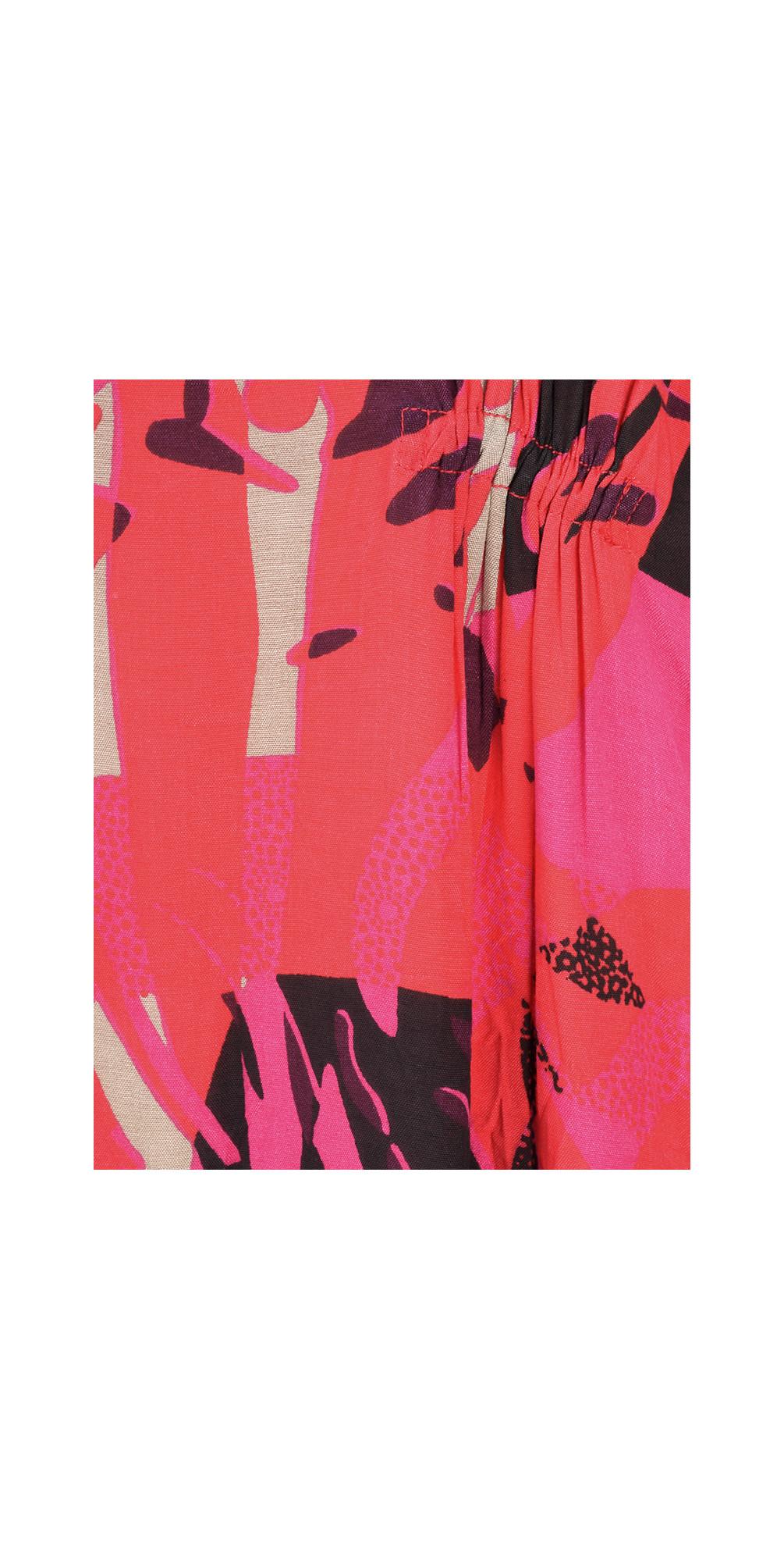 Abstract Print Nylla Dress main image