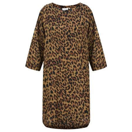 Masai Clothing Glusna Leopard Print Tunic - Brown