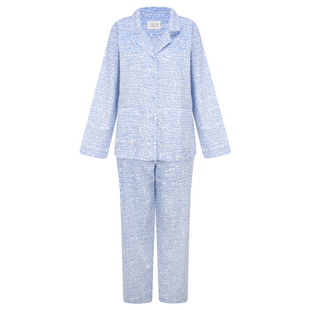 Yawn Love Birds Pyjama Gift Set - Blue