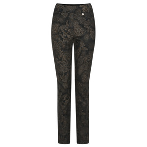 Robell Trousers Rose Paisley Party Trouser