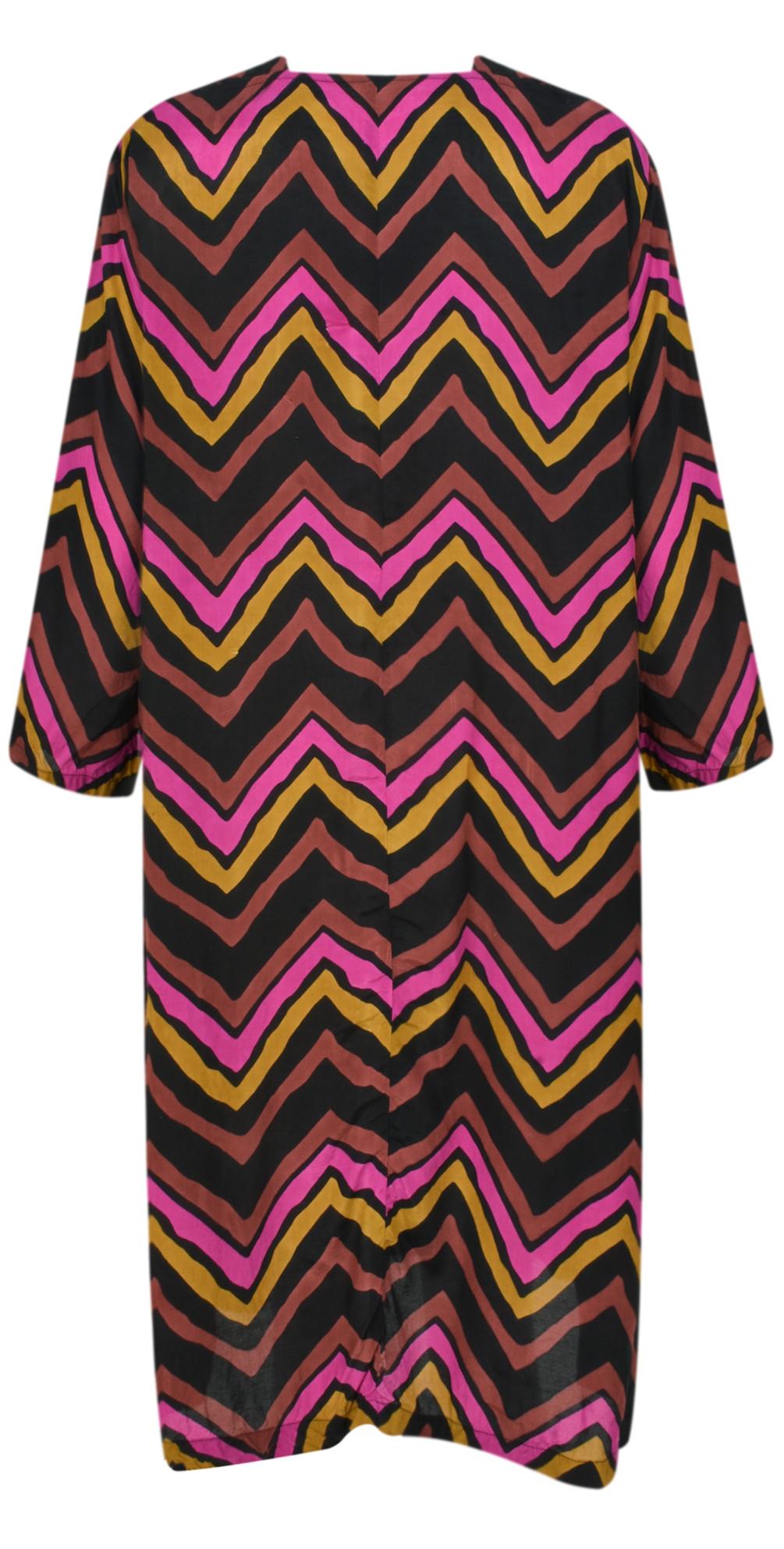 Nita Chevron Dress main image