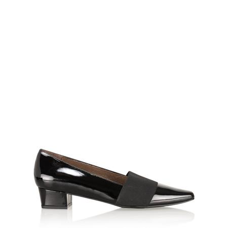 Gemini Label  Ratejo Classic Flat Shoe - Black