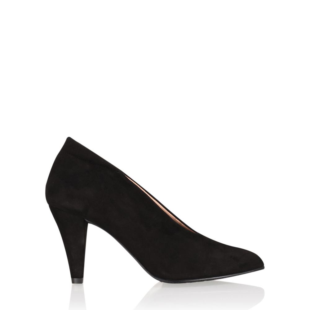 Gemini Label Shoes Samantha Court Shoe Black