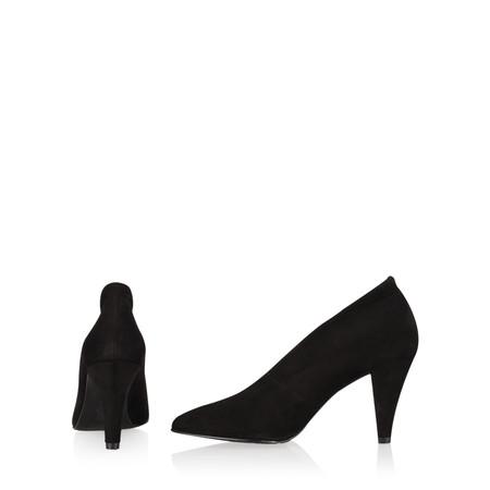 Gemini Label Samantha Court Shoe - Black