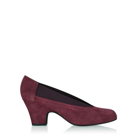 Gemini Label  Brumabe Suede Shoe - Purple