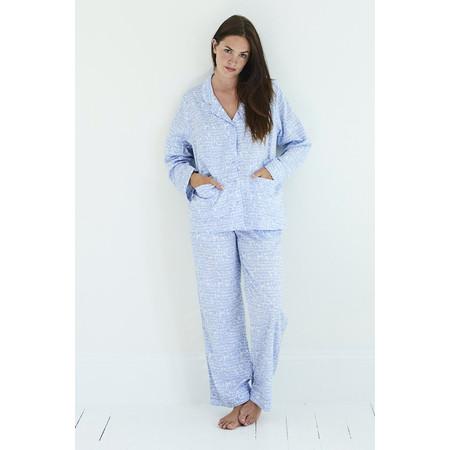 Yawn Love Birds Pyjama Set - Blue