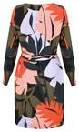 Sandwich Outlet Grape Leaf Bold Leaf Print Dress