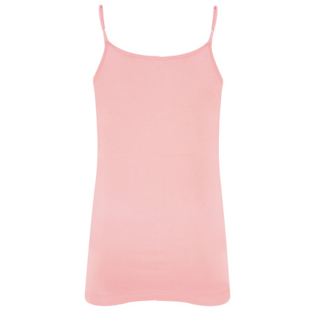 Sandwich Clothing Lace Trim Cami Top - Pink