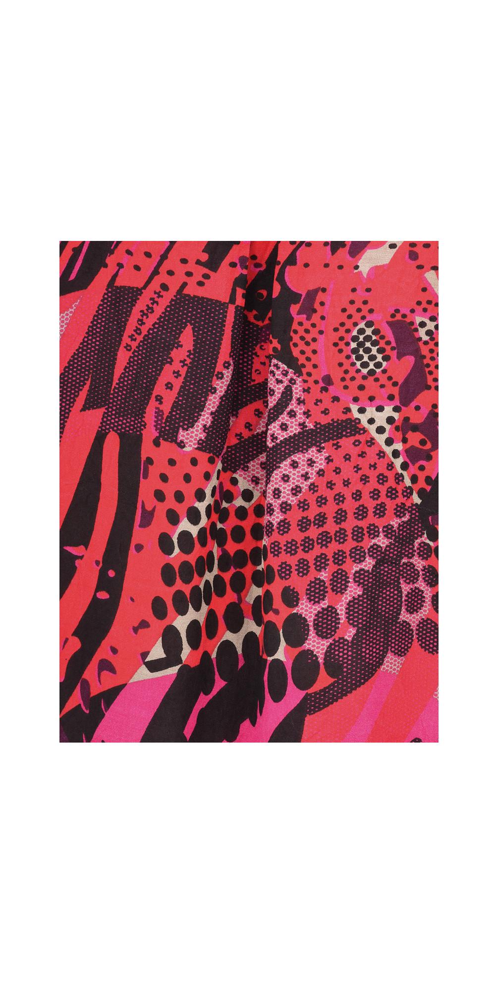 Abstract Print Berta Top main image