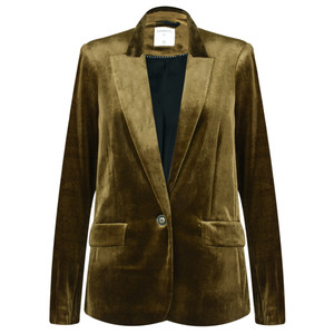 Sandwich Clothing Velvet Blazer