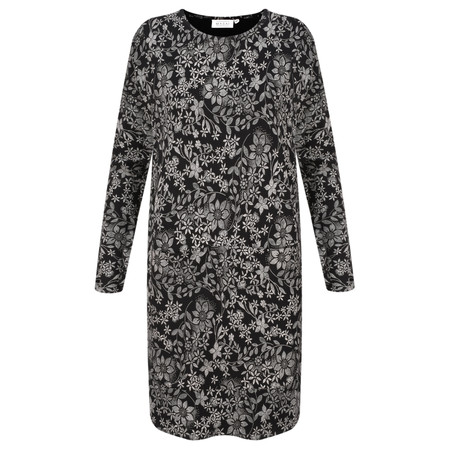 Masai Clothing Gyssia Floral Tunic - Black