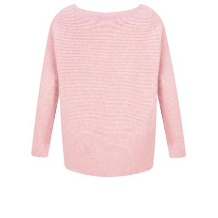 Fenella  Janey Rib Easyfit Jumper - Pink