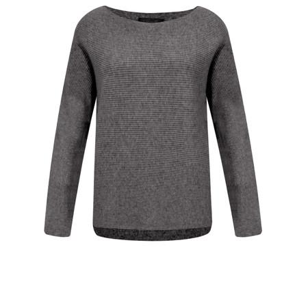 Fenella  Janey Rib Easyfit Jumper - Grey