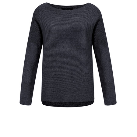 Fenella  Janey Rib Easyfit Jumper - Blue