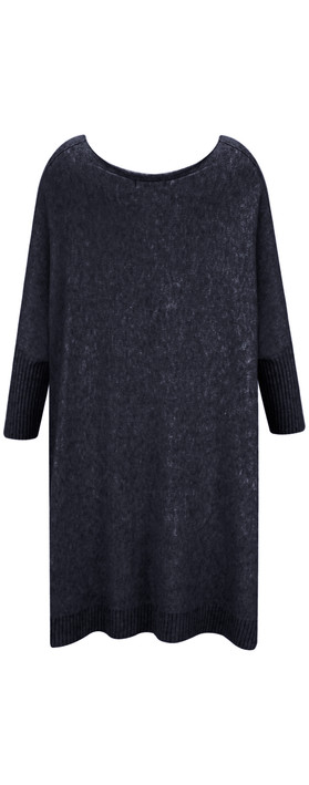 Fenella  Reva Oversized Supersoft Knit Navy
