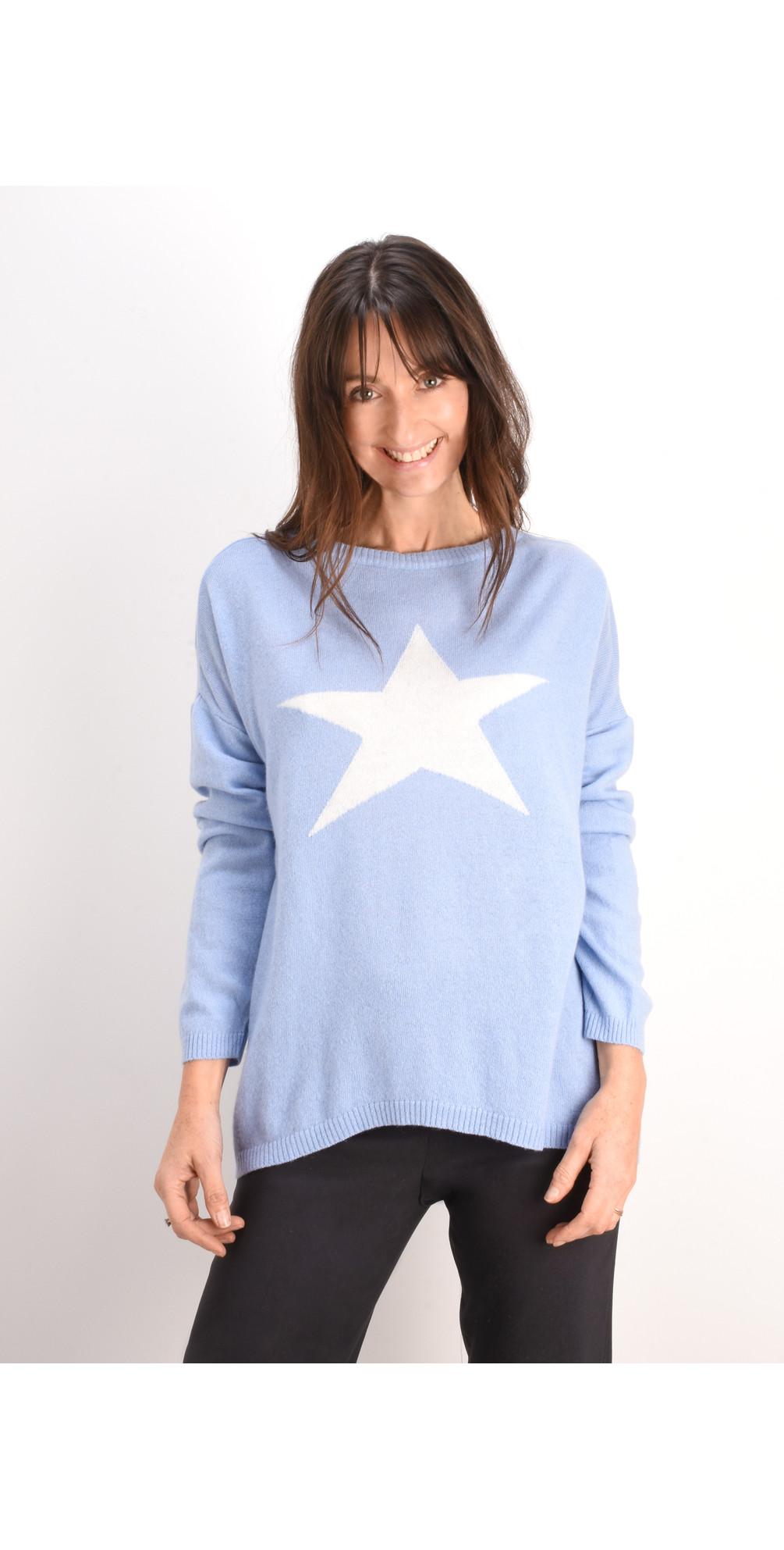 Cashmere Blend Star Jumper main image