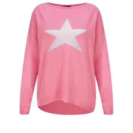 Luella Cashmere Blend Star Jumper - Pink