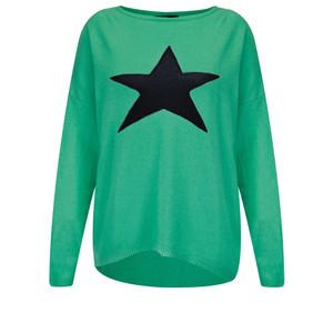 Luella Cashmere Blend Star Jumper
