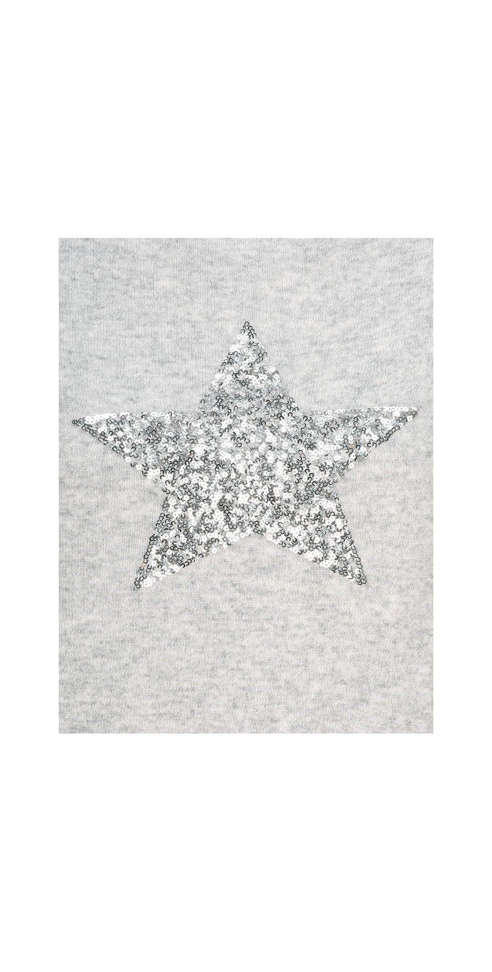 Sequin Star Cashmere Blend Jumper main image