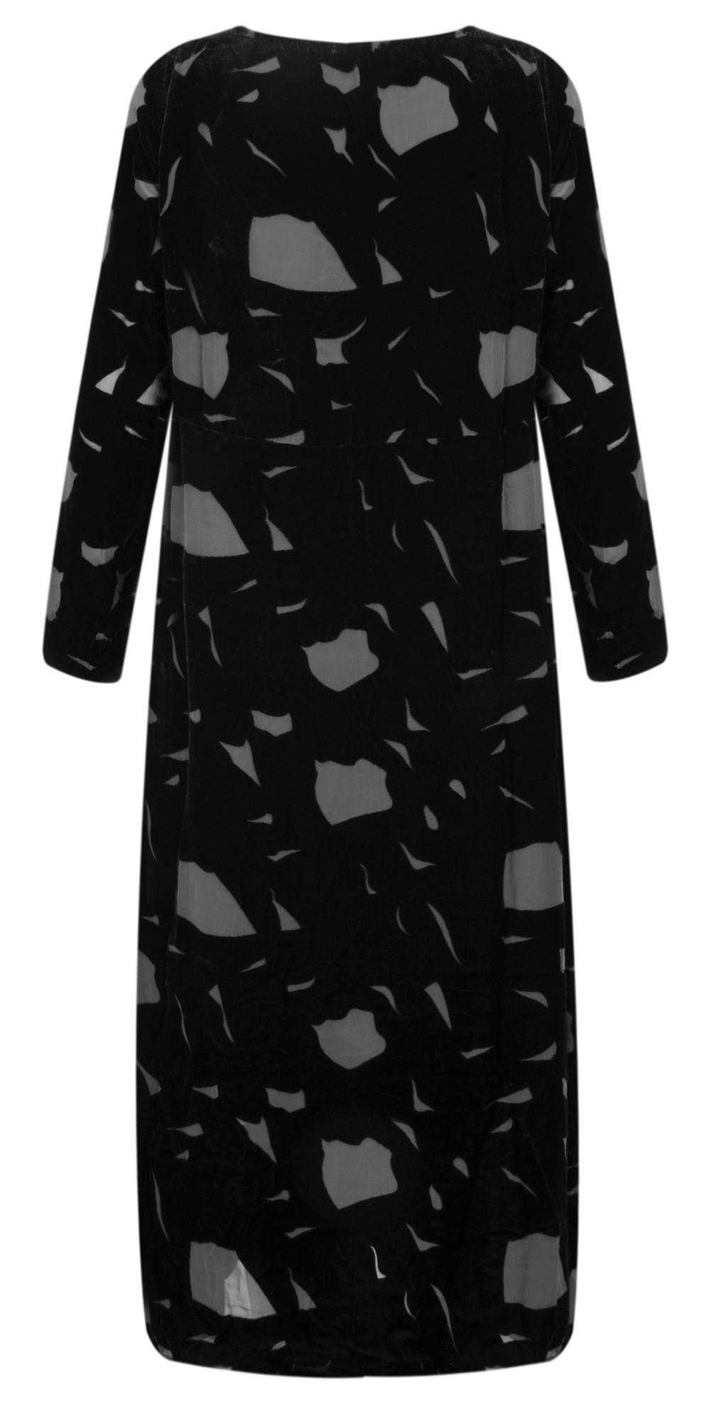 Isolda Devore Dress main image