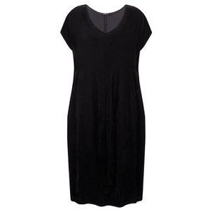 Grizas Hedli Drape Velvet Dress