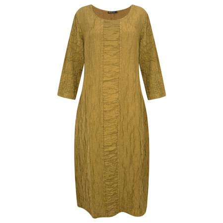 Grizas Fenn Silk Crinkle Dress  - Beige