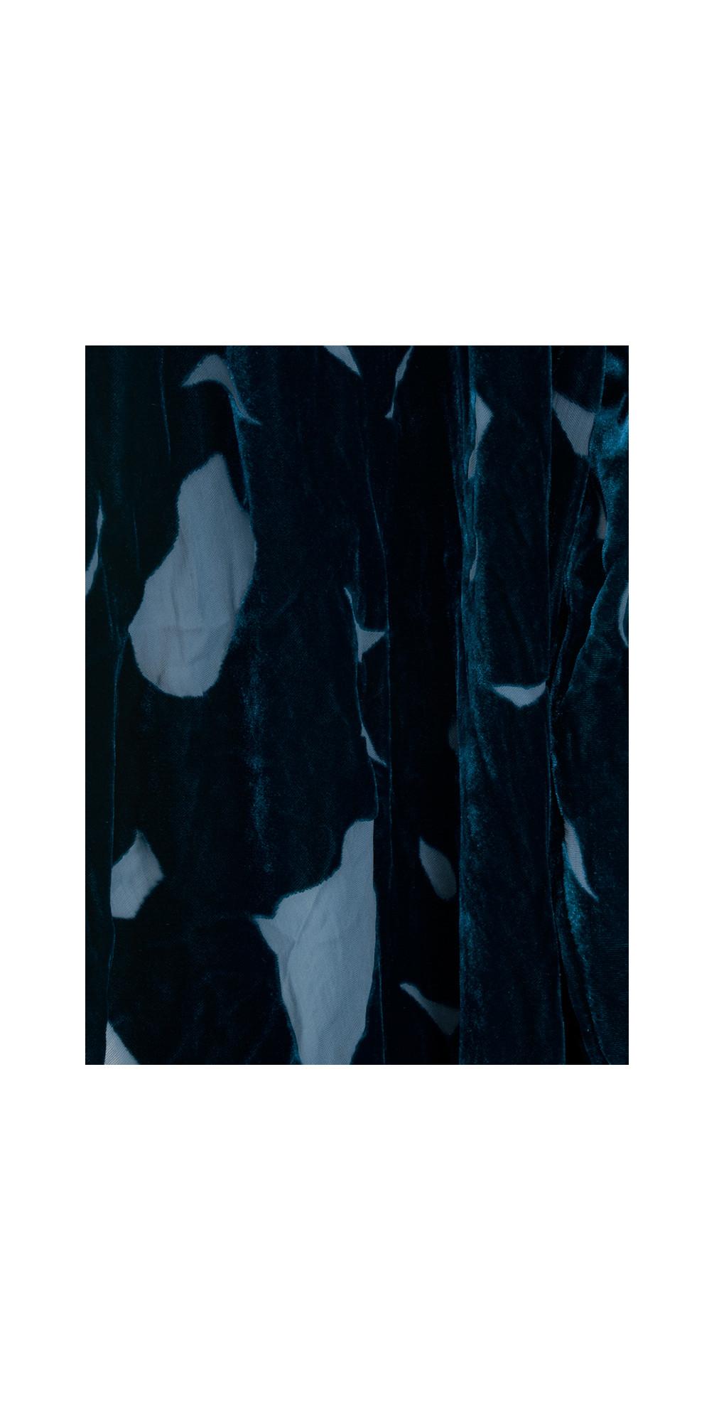 Minty Devore Velvet Drape Jacket main image
