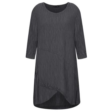 Grizas Petra Silk Crinkle Top - Grey
