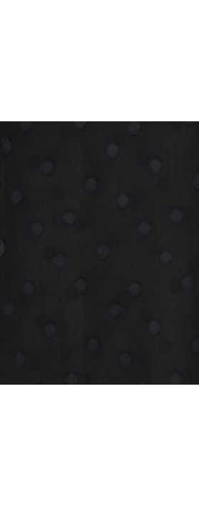 Grizas Layla Devore Spot Top Black