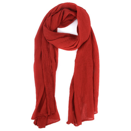 Grizas Margi Crinkle Scarf - Red