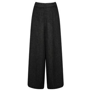 Grizas Niki Wide Leg Wool Trouser